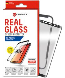 Displex 3D Glass + Frame Samsung Galaxy S8 Plus Screen Protector Zwart