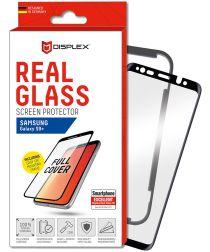 Displex 3D Glass + Frame Samsung Galaxy S9 Plus Screen Protector Zwart