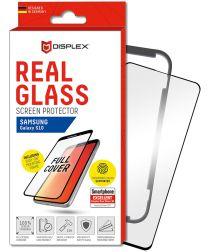 Displex 3D Glass + Frame Samsung Galaxy S10 Screen Protector Zwart