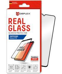 Displex 3D Real Glass Samsung Galaxy A70 Screen Protector Zwart