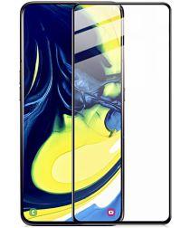 Samsung Galaxy A80 Volledig Dekkende Tempered Glass Screen Protector