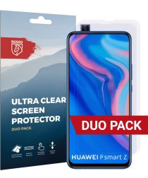 Rosso Huawei P Smart Z Ultra Clear Screen Protector Duo Pack