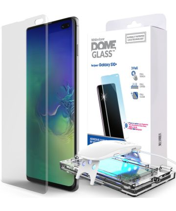 Whitestone Dome Glass Samsung Galaxy S10 Plus Screen Protector Screen Protectors