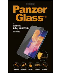 PanzerGlass Samsung Galaxy A10 Case Friendly Screenprotector Zwart