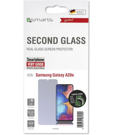4Smarts Second Glass Limited Cover Samsung Galaxy A20e