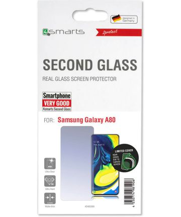 4Smarts Second Glass Limited Cover Samsung Galaxy A80
