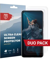 Rosso Honor 20 Ultra Clear Screen Protector Duo Pack