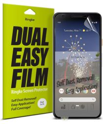 Ringke DualEasy Anti-Stof Screen Protector LG V50 ThinQ [2-Pack]