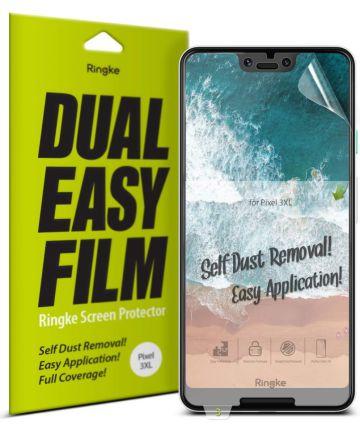 Ringke DualEasy Anti-Stof Screen Protector Google Pixel 3 XL [2-Pack]