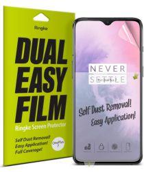 Ringke DualEasy Anti-Stof Screen Protector OnePlus 7 [2-Pack]