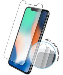 Eiger Tri Flex High Impact Screen Protector Apple iPhone XS Max 2-Pack