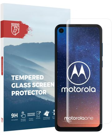 Rosso Motorola One Vision 9H Tempered Glass Screen Protector