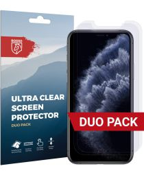 Rosso Apple iPhone 11 Pro Ultra Clear Screen Protector Duo Pack