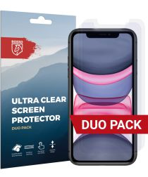 Rosso Apple iPhone 11 Ultra Clear Screen Protector Duo Pack