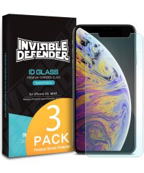 Ringke ID Glass 0.33mm Apple iPhone XS Max (3 Pack)