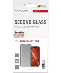 4Smarts Second Glass Curved Colour Frame Apple iPhone 11 Zwart