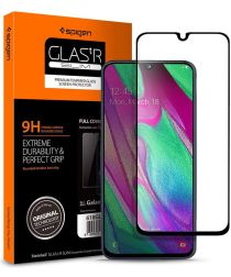 Spigen Samsung Galaxy A40 Full Cover Tempered Glass Screen Protector