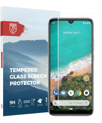 Rosso Xiaomi A3 9H Tempered Glass Screen Protector