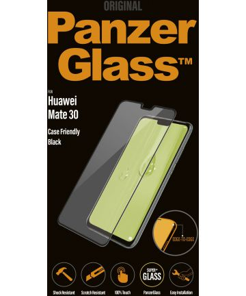 PanzerGlass Huawei Mate 30 Case Friendly Screenprotector Zwart