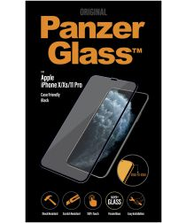 PanzerGlass iPhone 11 Pro / X(s) Case Friendly Screenprotector Zwart