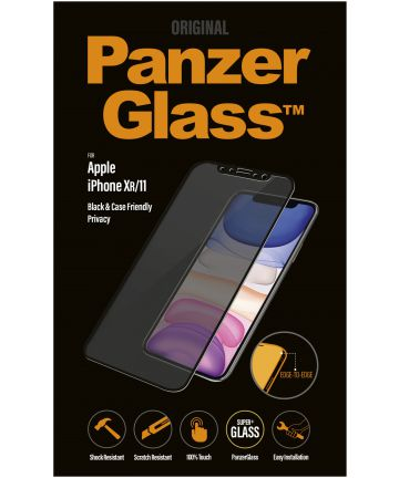 PanzerGlass Apple iPhone 11 / XR Privacy Glass Screenprotector