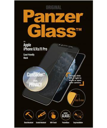 PanzerGlass Privacy Camslider CF Screenprotector iPhone 11 Pro / XS