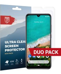 Rosso Xiaomi Mi A3 Ultra Clear Screen Protector Duo Pack
