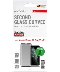 4smarts Second Glass Curved Privacy iPhone 11 Pro / XS Screenprotector