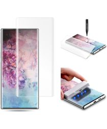 Galaxy Note 10 Tempered Glass Screenprotector [UV lichtbestraling]