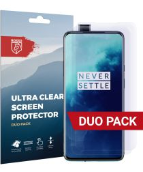 Rosso OnePlus 7T Pro Ultra Clear Screen Protector Duo Pack