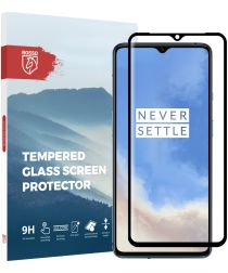 Rosso OnePlus 7T 9H Tempered Glass Screen Protector Zwart