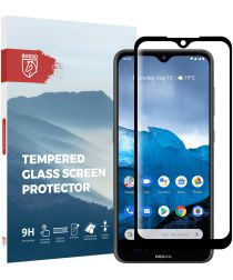Rosso Nokia 6.2/Nokia 7.2 9H Tempered Glass Screen Protector Zwart