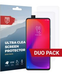 Rosso Xiaomi Mi 9T Pro Ultra Clear Screen Protector Duo Pack