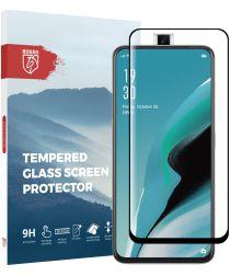 Rosso Oppo Reno2 9H Tempered Glass Screen Protector Zwart
