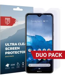 Rosso Nokia 6.2 / 7.2 Ultra Clear Screen Protector Duo Pack