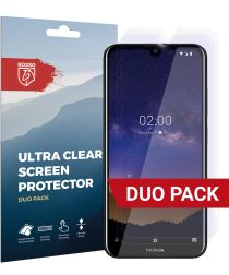 Rosso Nokia 2.2 Ultra Clear Screen Protector Duo Pack
