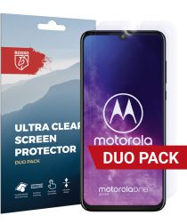 Rosso Motorola Moto Zoom Ultra Clear Screen Protector Duo Pack