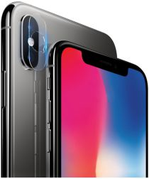 Imak Apple iPhone X / XS (Max) HD Glass Camera Lens Protector Duo Pack