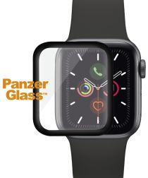 PanzerGlass Apple Watch 44MM CF Screenprotector Tempered Glass Zwart