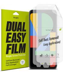 Ringke Dual Easy Film Google Pixel 4 XL Screenprotector (Duo Pack)