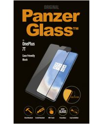 PanzerGlass OnePlus 7T Case Friendly Screenprotector Zwart