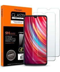 Spigen Redmi Note 8 Pro Tempered Glass Screen Protector 2-Pack