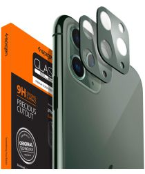 Spigen iPhone 11 Pro (Max) Camera Lens Tempered Glass 2-Pack Groen