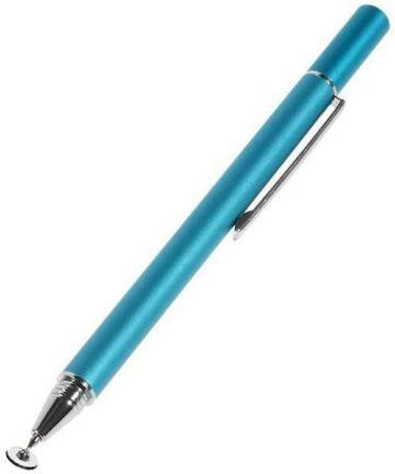 Universele Stylus Pen Precision Disc Capacitief Blauw