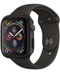 Spigen Thin Fit Apple Watch 44MM Hoesje Hard Plastic Bumper Zwart