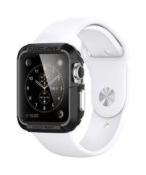 Spigen Rugged Armor Apple Watch 42MM Hoesje Zwart