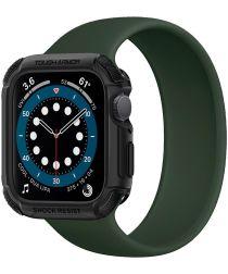 Spigen Tough Armor Apple Watch 44MM Hoesje Full Protect Zwart