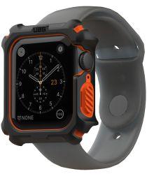 Urban Armor Gear Apple Watch 44MM Hoesje Zwart/Oranje