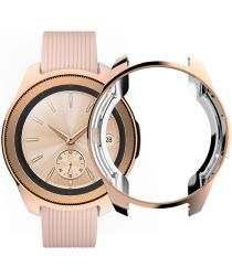 Samsung Galaxy Watch 42MM Hoesje Flexibel TPU Bumper Roze Goud