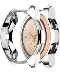 Samsung Galaxy Watch Hoesje Full Protect TPU 42MM Zilver